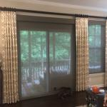 Drapery panels woven wood shades silver beach raleigh 001