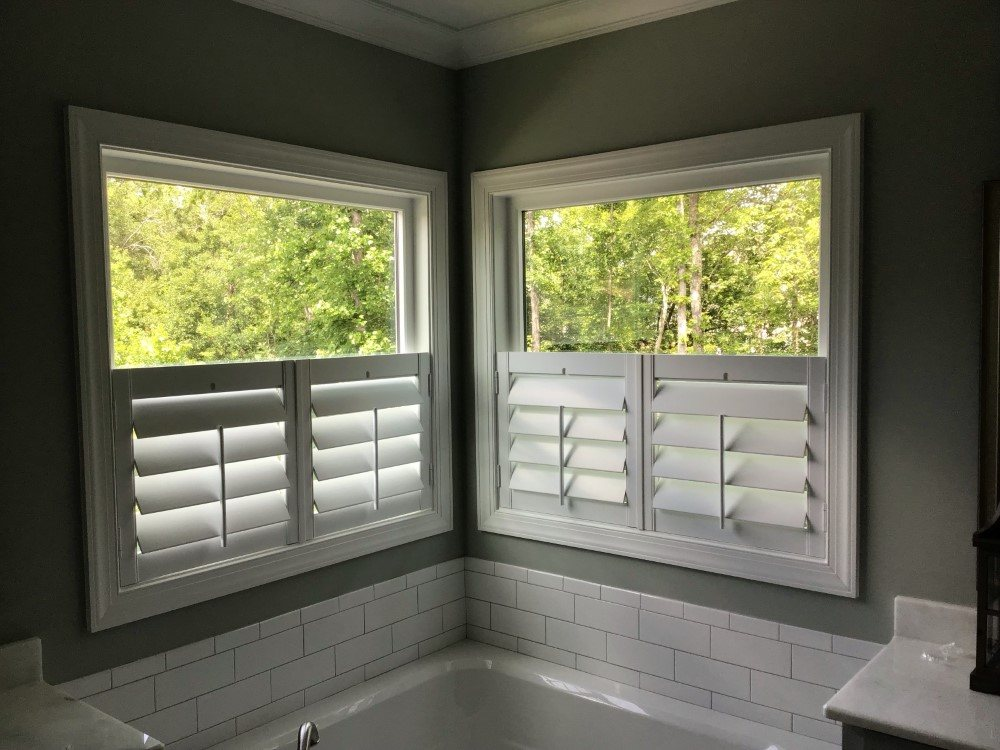 Cafe Shutters Installed In Durham Nc