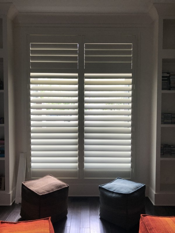 Custom Color Shutters Installed In Raleigh Nc