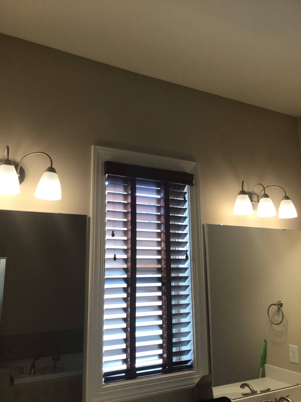 Real Wood Blinds With Decorative Tapes In Cary Nc